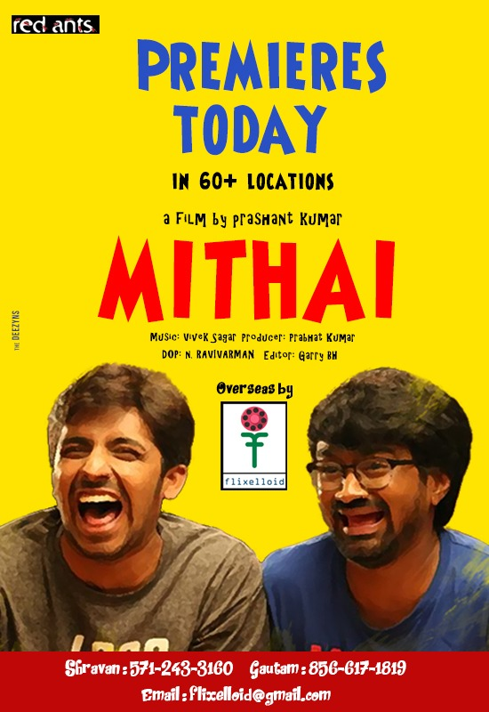 All set for Mithai USA Premiers Today..!!