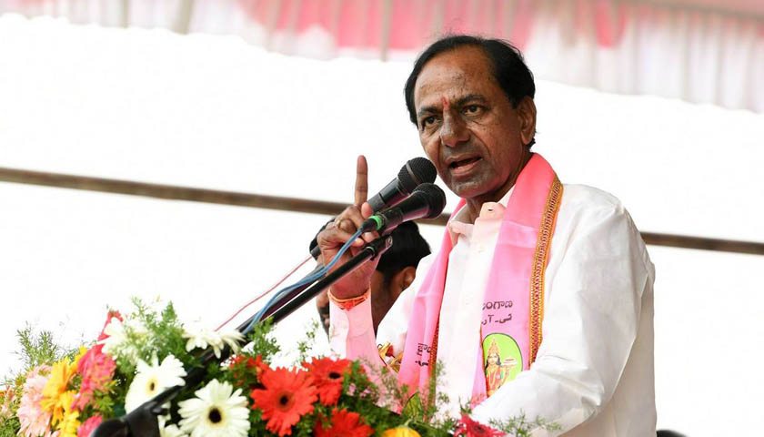 KCR's Whirlwind Tour in 16 MP Constituencies of Telangana