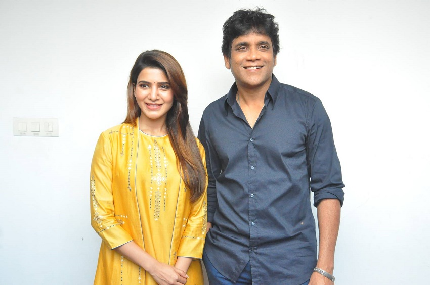 Samantha in Nagarjuna's Film Once Again
