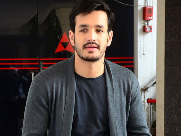 Akhil trying hard to get that director on board