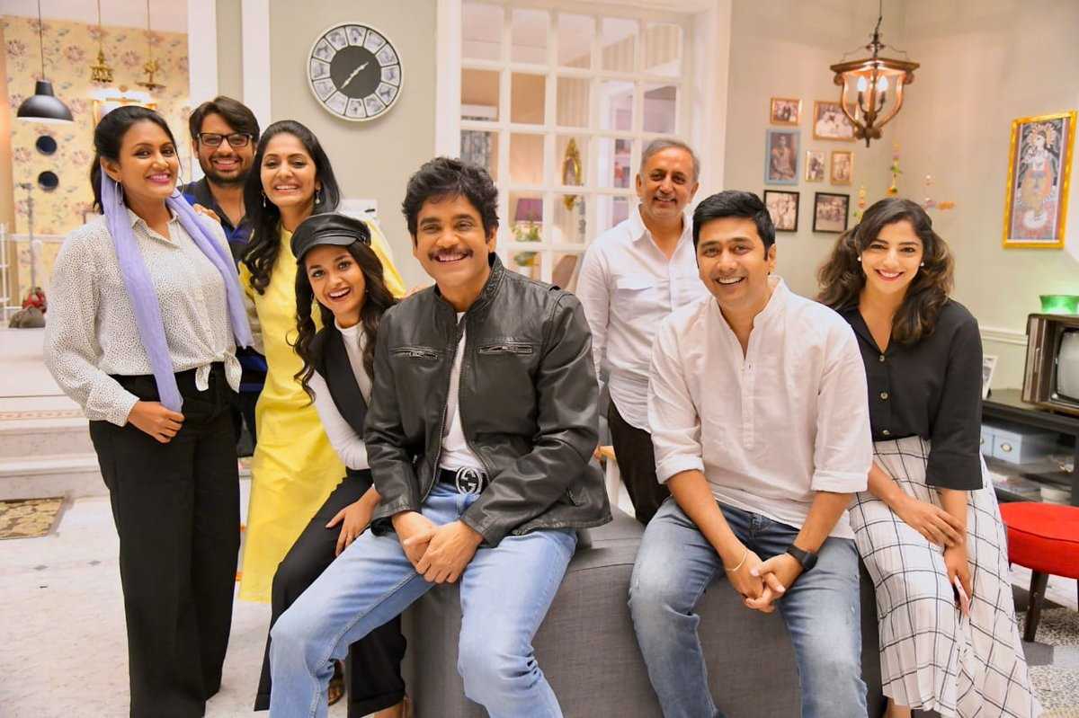 Manmadhudu Heading To Swiss?