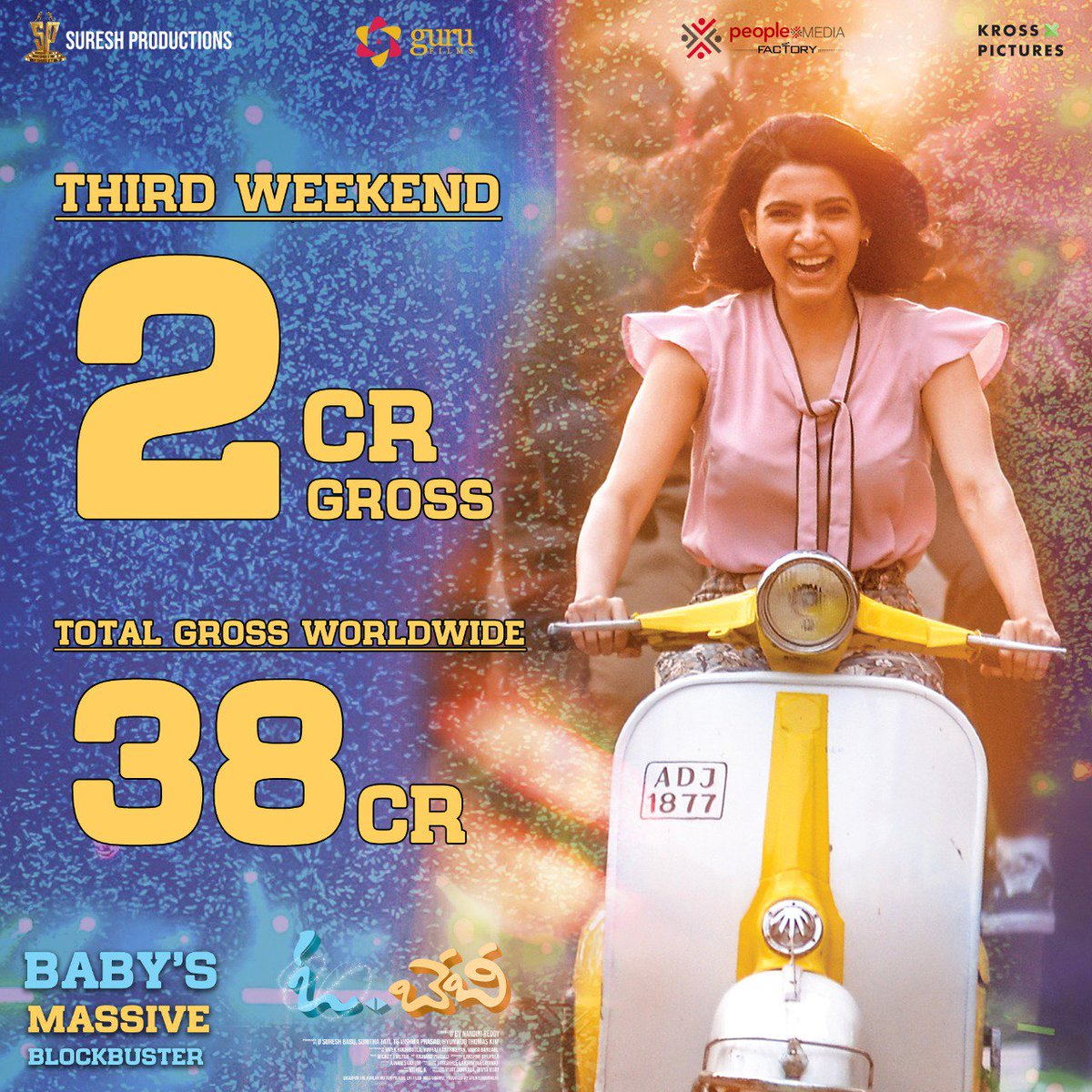 Oh Baby Mints 18 Crs Share & 38Crs Gross-Double BlockBuster