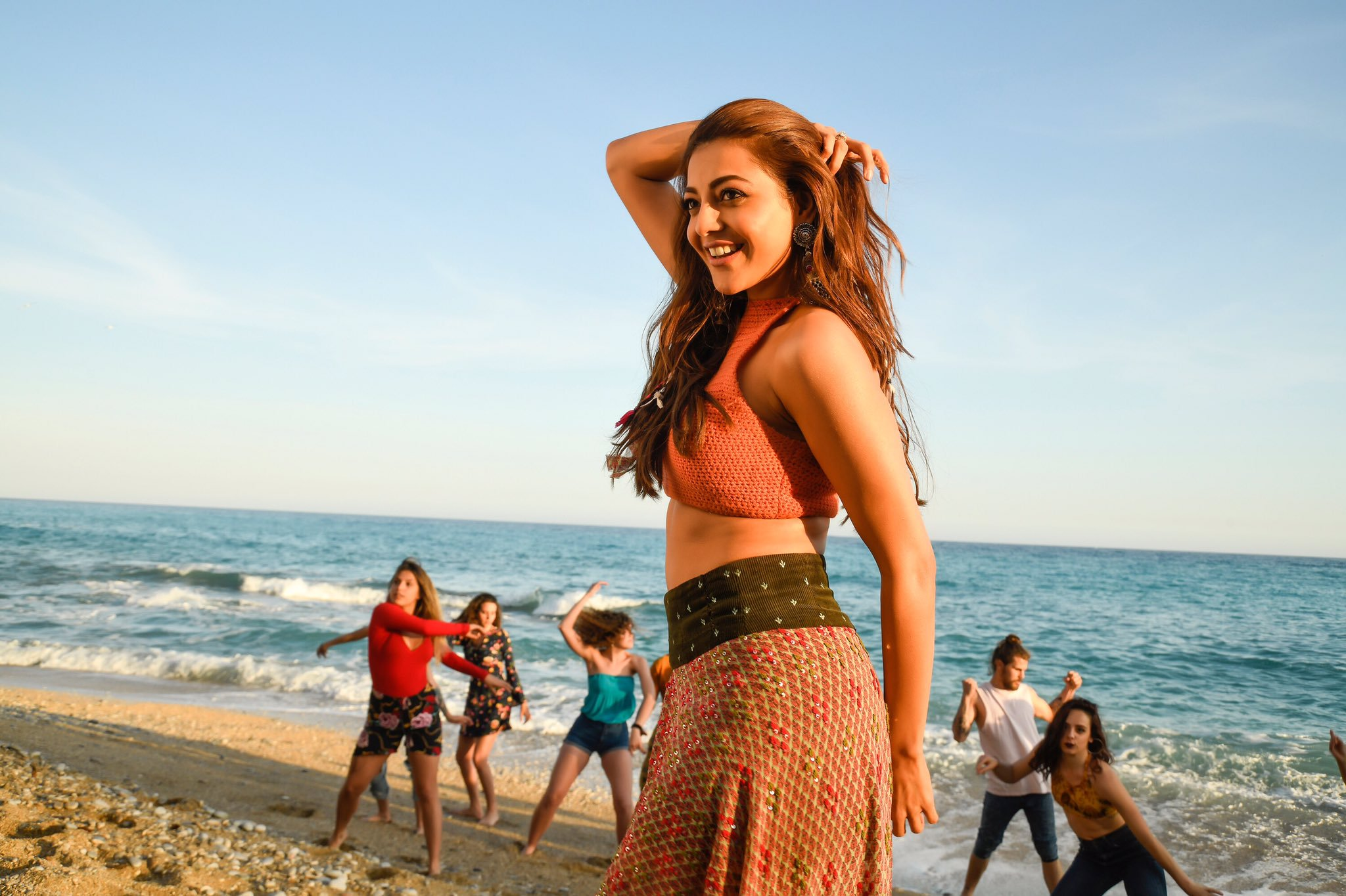 Kajal Back Out From Movie