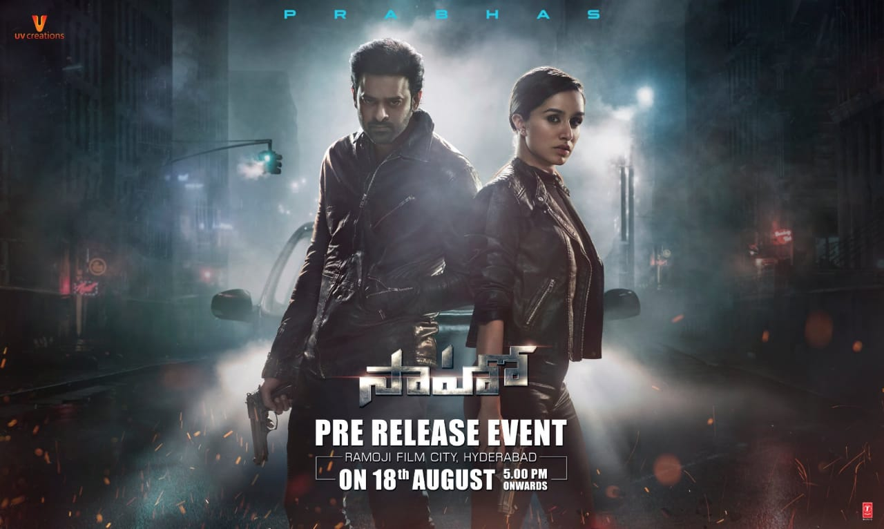 Team Saaho busy with discussions to select chief guest