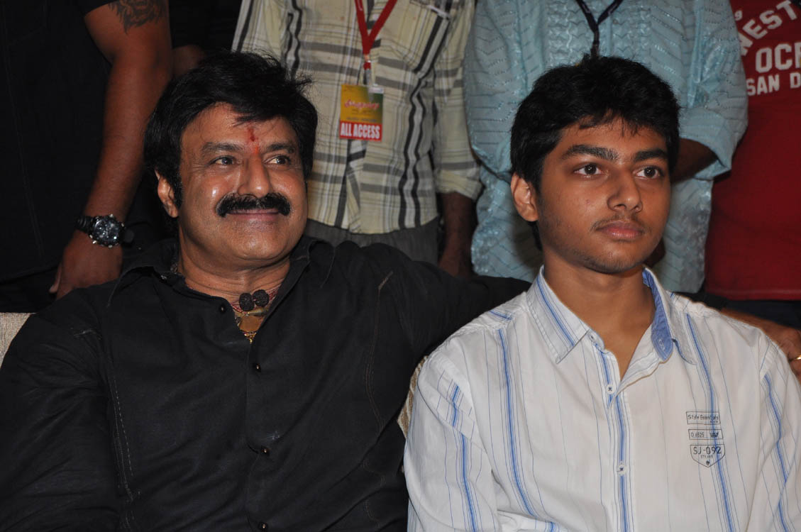 Balakrishna sidelines his son's entry as of now