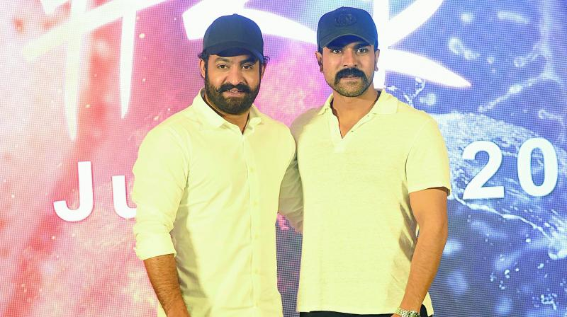 Charan's special screening of Sye Raa for NTR