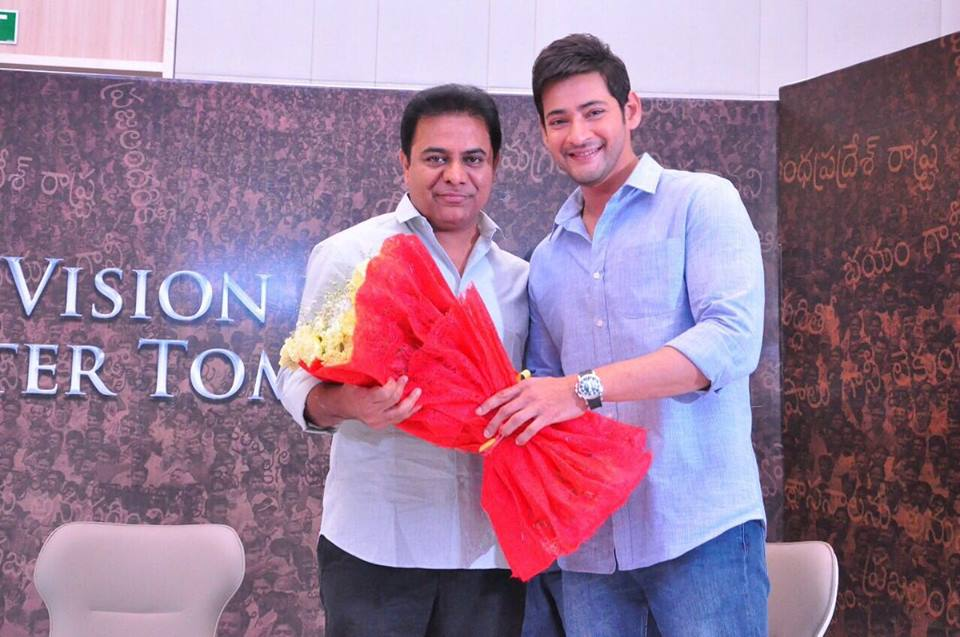 KTR saved Mahesh once again in IT Raids