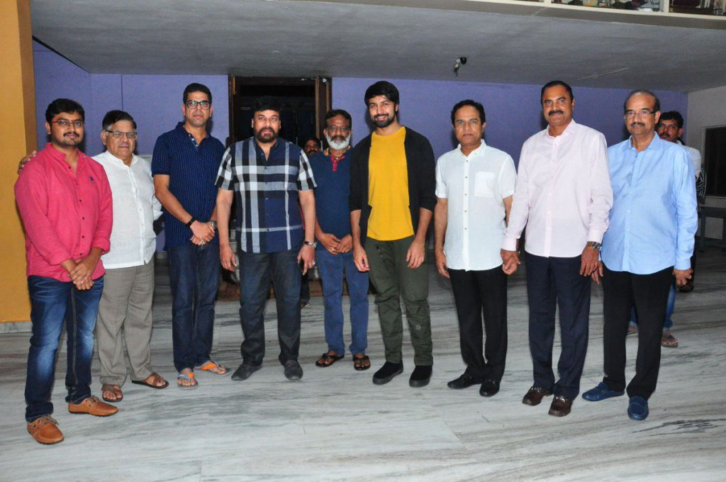Mega Alludu's Director Goes to Allu Compound