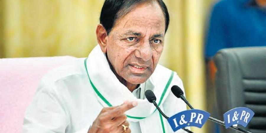 KCR gives permission for film shootings