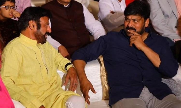 Balayya vs Chiru-Nothing but silly ego issues