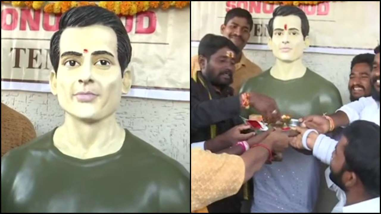 A Temple for Sonu Sood in a Telangana Village