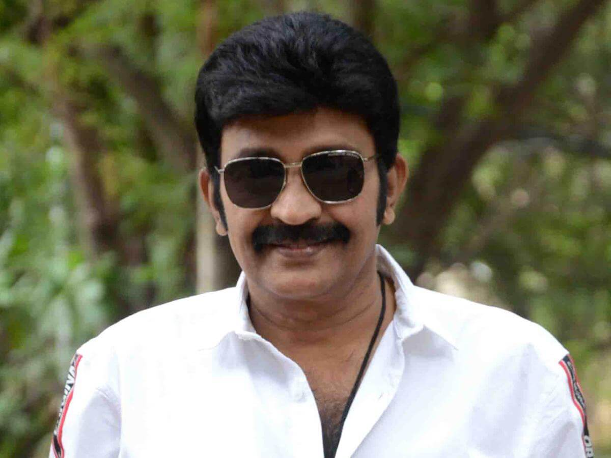 Rajasekhar Sets Time to Be Back Before Camera
