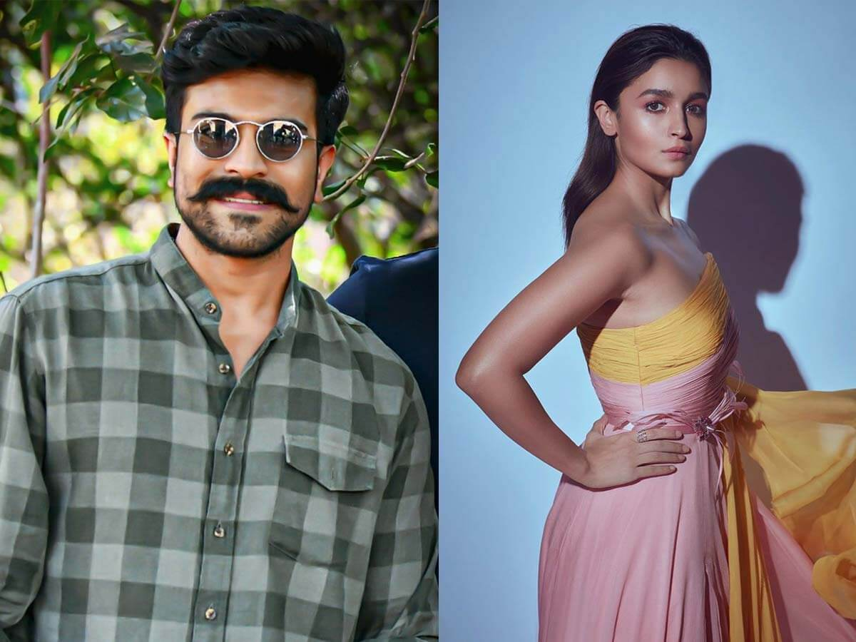 Third Hurdle for Alia Bhatt Ram Charan Scenes