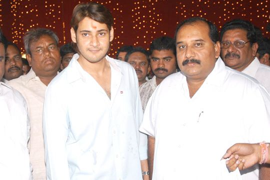MS Raju giving feelers about a film with Mahesh Babu