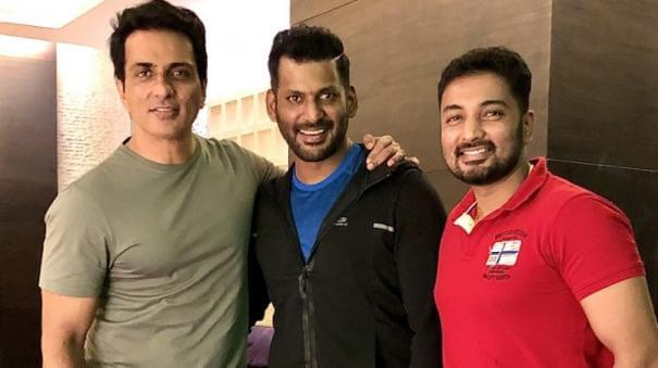 Sonu Sood in Hindi Remake of Vishal's Film