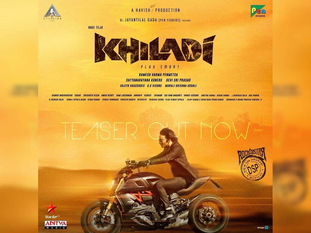 Khiladi teaser hits the right note