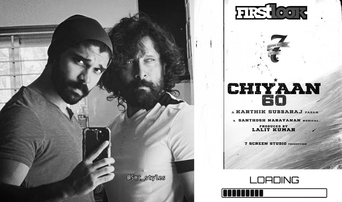 #Chiyaan60 is 50% Completed