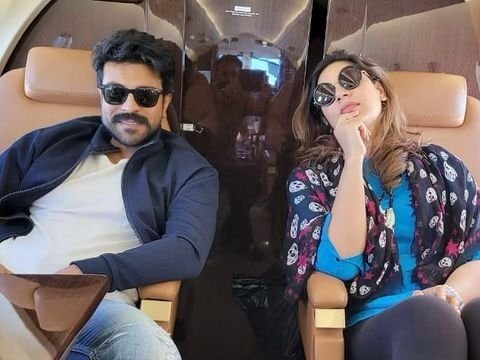 Ram Charan Goes On A Vacation In A Private Jet