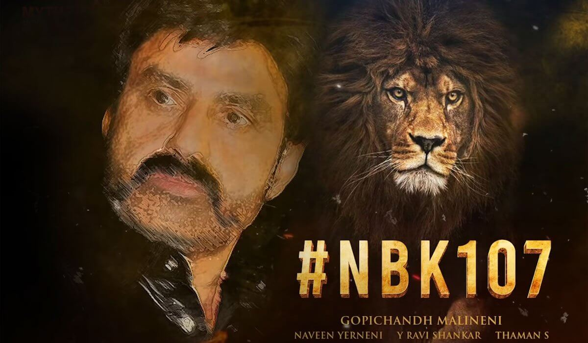Rare Opportunity for Balakrishna with #NBK107