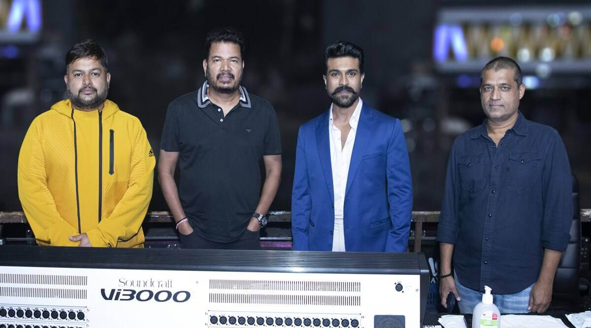 #RC15 To Begin With Ram Charan Intro Song?