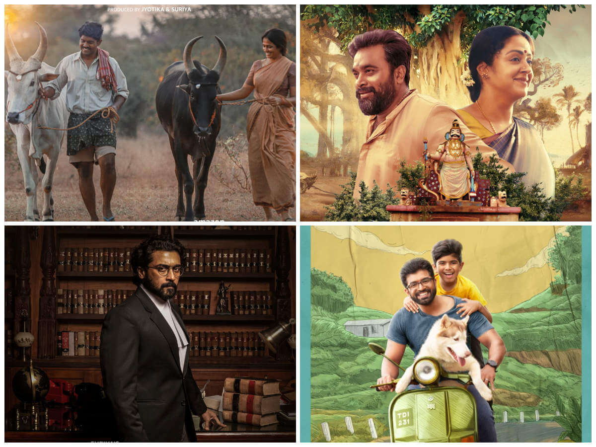 Suriya Signs Four Film OTT Release Deal with Amazon
