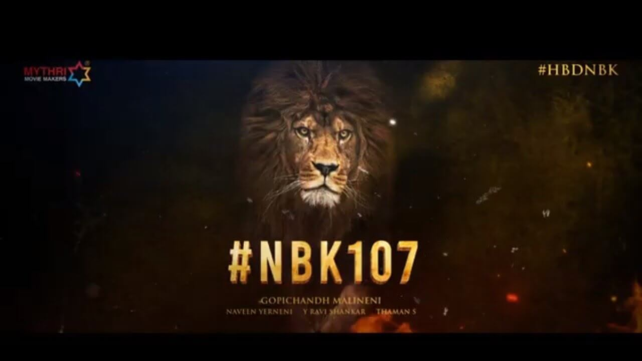 Powerful Title Locked For #NBK107?