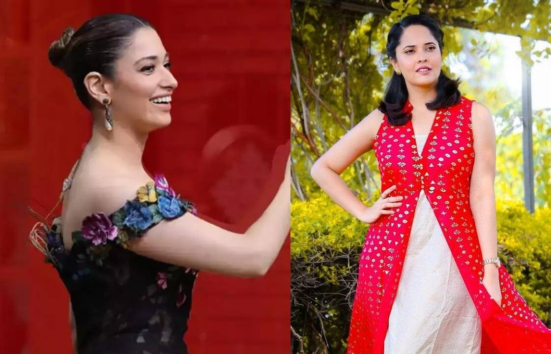 Tamannah out Anasuya in for Master Chef